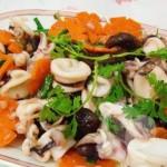 Cách làm món mực xào nấm hương thơm ngon bổ dưỡng