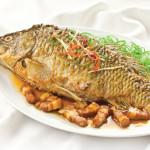 Đậm đà đưa cơm với cá chép kho tương