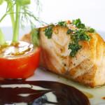 Cá hồi hấp chuẩn tinh hoa món ăn Thái