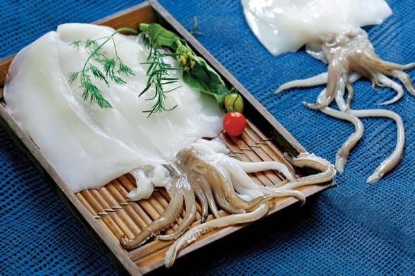 Mực tươi chế biến được nhiều món ăn ngon